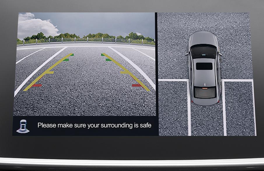 360° panoramic parking system
