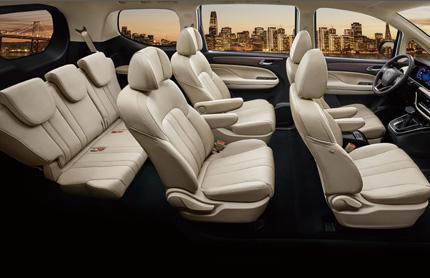 73.2-inch 7 seats design