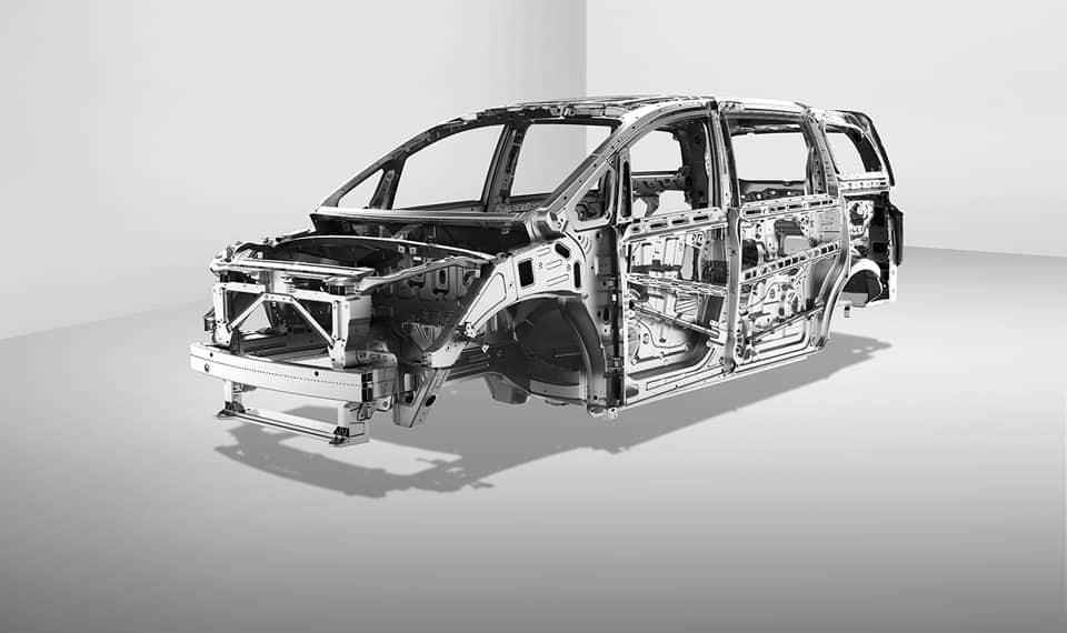 GAC high-strength steel safety body