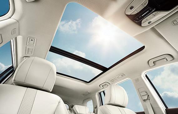 Supersized panoramic sunroof